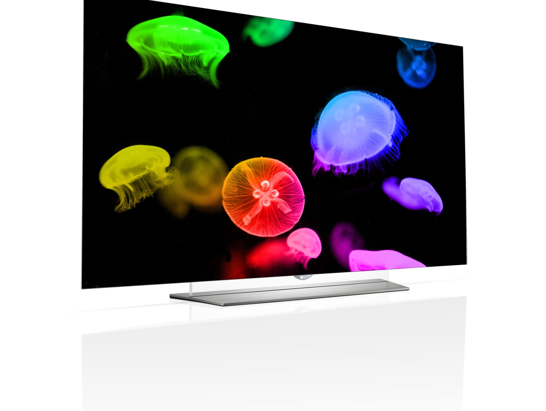 LG Electronics' latest OLED 4K TV.