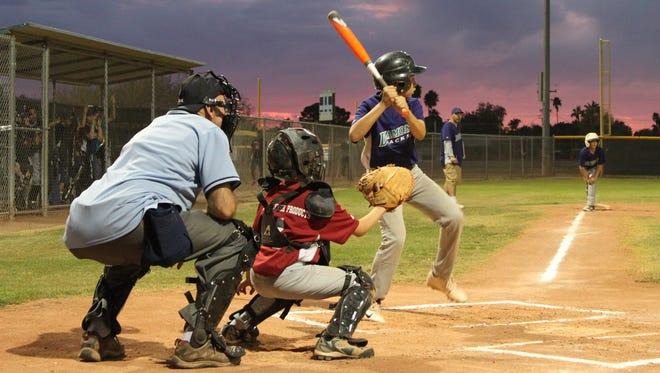 Little League baseball. August 11, 2014.