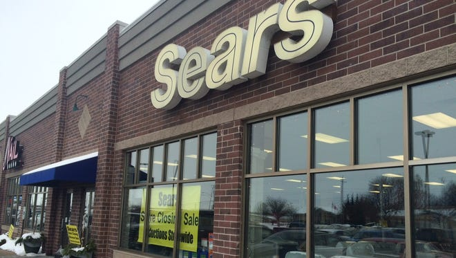 Oshkosh's Sears Hometown Store, 2081 Witzel Ave., will close, the company confirmed Friday, Dec. 23, 2016.