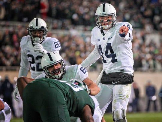 Christian Hackenberg threw 48 touchdowns and 31 interceptions in three seasons at Penn State.