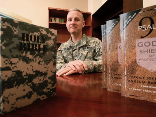Chaplain Lt. Col. Tom Helms is the new 1st Armored Division chaplain.