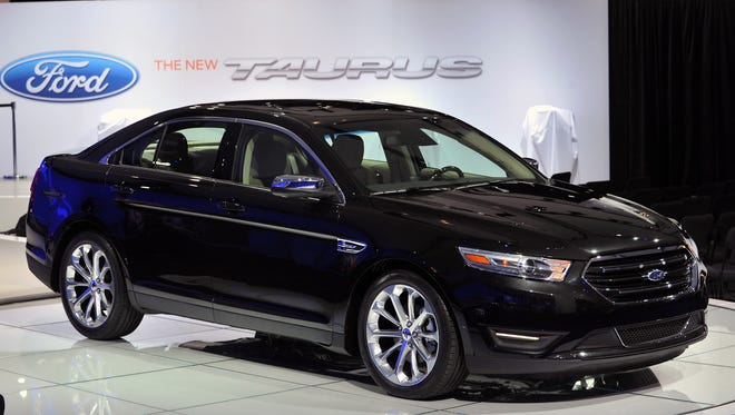 The 2013 Ford Taurus is among the models being recalled