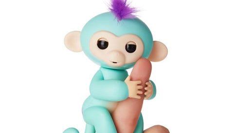Look, it's a Fingerlings Baby Monkey