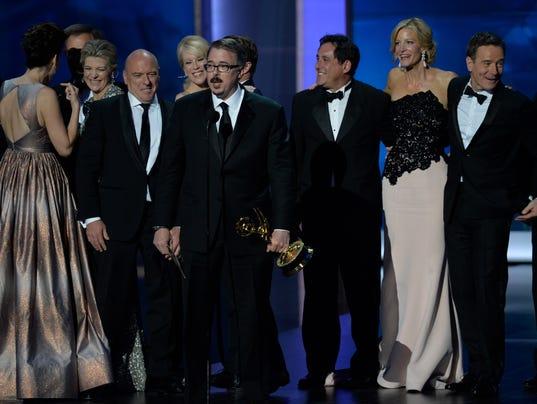 Breaking Bad wins Emmy