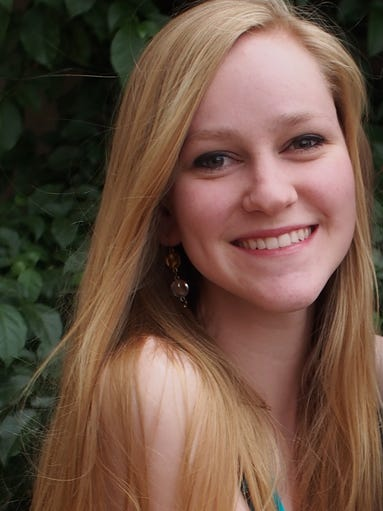 ASU student Catie Carson, who spent her summer as an