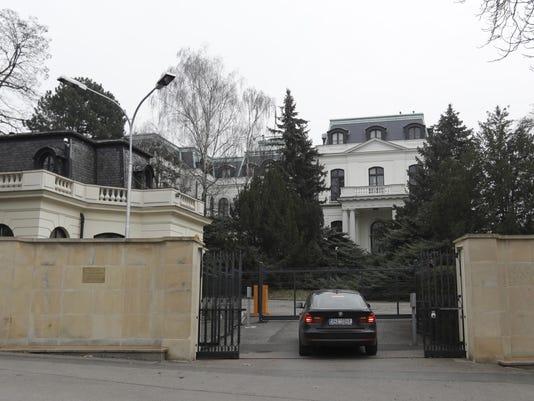 Czech Republic Russia Spy Diplomats