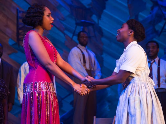 XXX 5032_CYNTHIA ERIVO AND JENNIFER HUDSON IN THE COLOR PURPLE PHOTO BY MATTHEW MURPHY 2015.JPG D ENT
