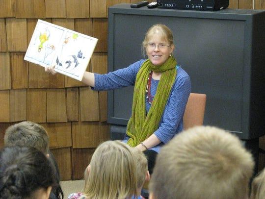 Children's author and illustrator Lita Judge recently