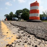 Construction is resuming on Wyckoff Road between Route 34 and 33, Monday, July 21, 2014, in Wall, NJ. Photo by Jason Towlen
