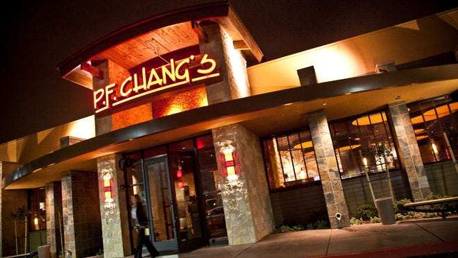 P.F. Changs storefront.
