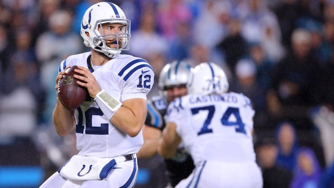 If he plays like he did in 2014, Andrew Luck would be a trendy pick for NFL Comeback Player of the Year.