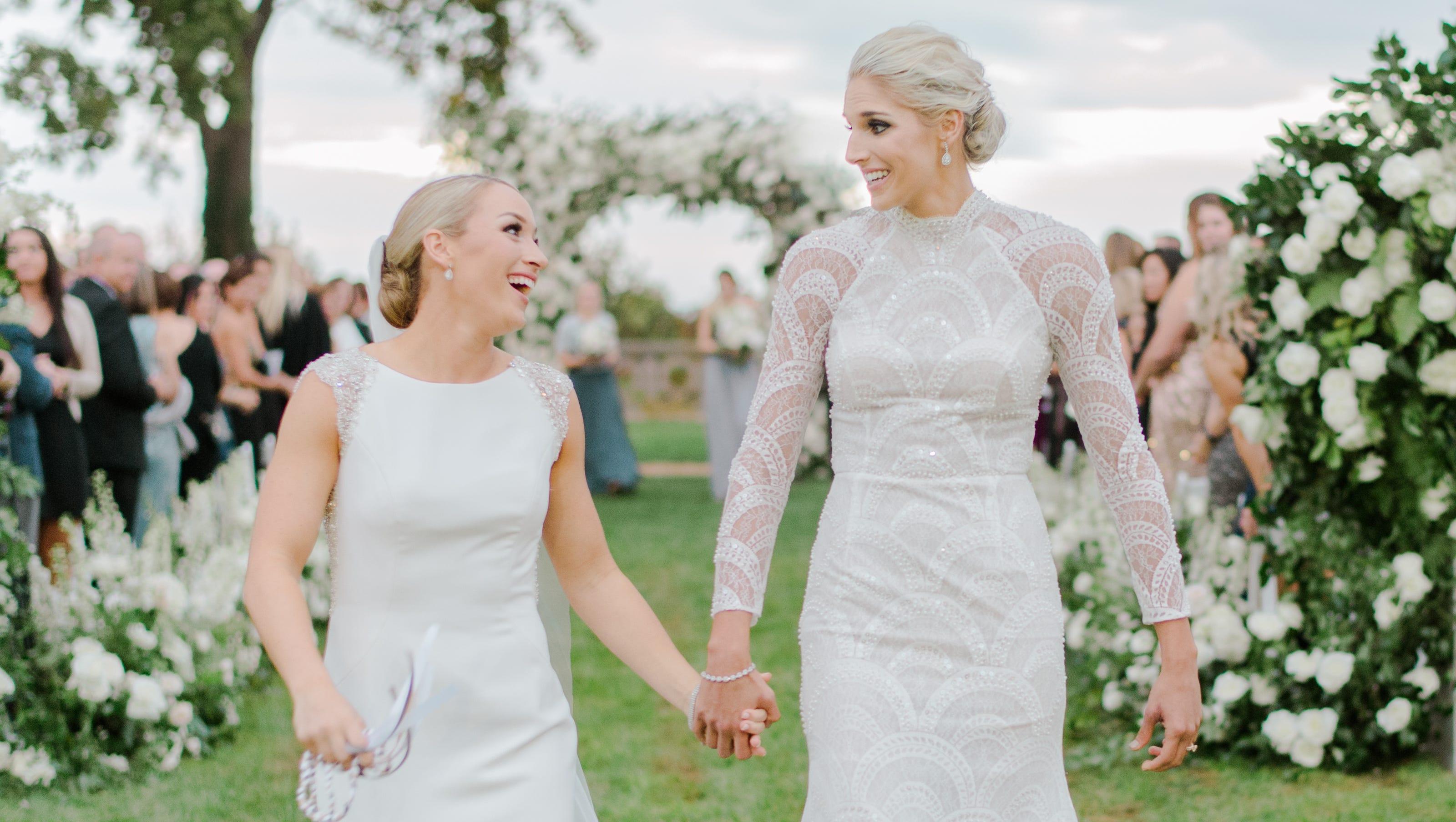 Elena Delle Donne, Amanda Clifton Marry In The Knot Dream