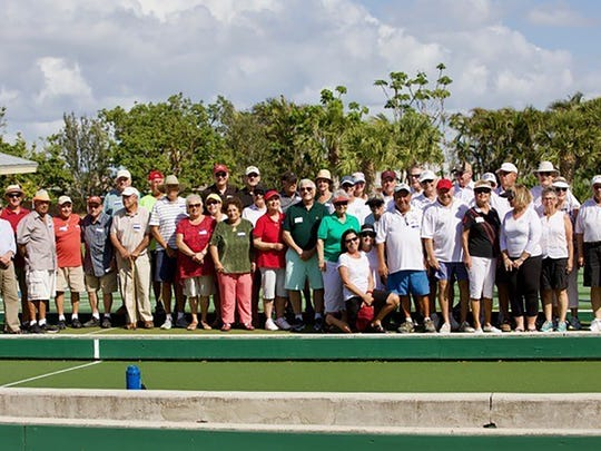 The Sixth Annual Bocce Tournament between the Italian