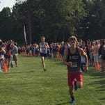La Salle senior Brad Anneken finishes second at the Finish Timing Invitational at Wilmington College Aug. 29.