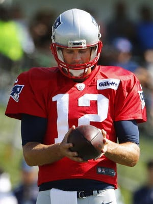 Tom Brady made his first public comments since it became official he will miss the first four games of the season.