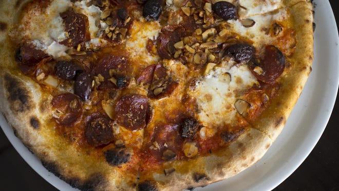 The Spain pizza at Craft 64 in Scottsdale.