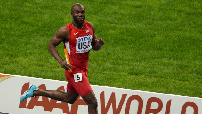 LaShawn Merritt claimed two gold medals in the 2013 world championships in Moscow, the 200 and the 4x400 relay.