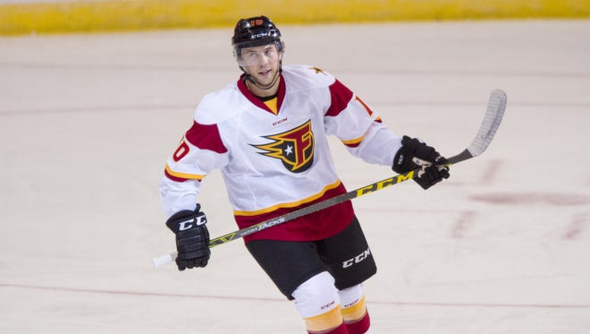 FILE – Indy Fuel forward Alex Wideman is back after leading the team in scoring last season.