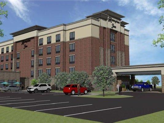 Hampton Inn rendering
