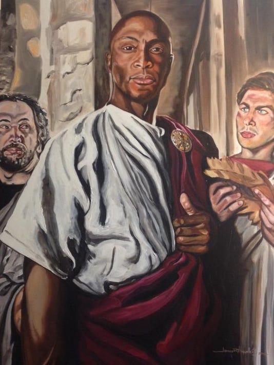 Eddie George as Caesar.jpg