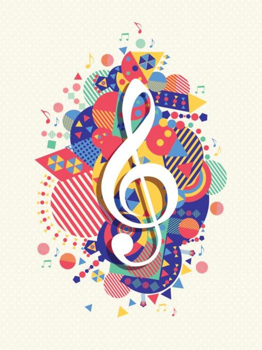 music treble clef