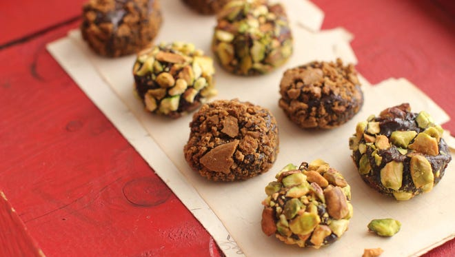 Mocha Gingerbread Brigadeiros are a great no-bake treat that can be made days in advance.