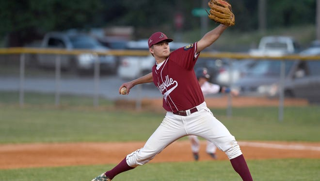 Griffin Mease and Asheville Post 70 are home for Wednesday's Game 5 of an American Legion state playoff series with Lincoln County.