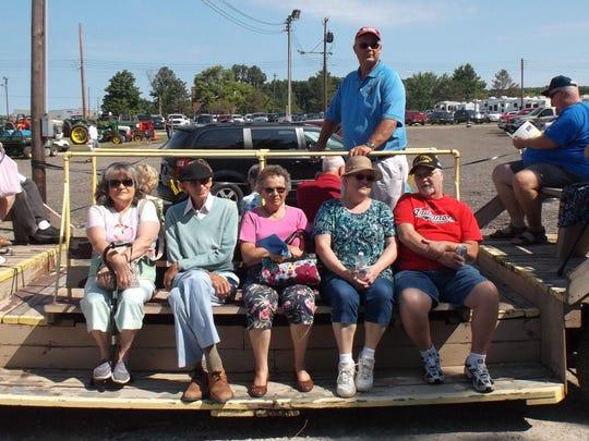 Seniors at the fair