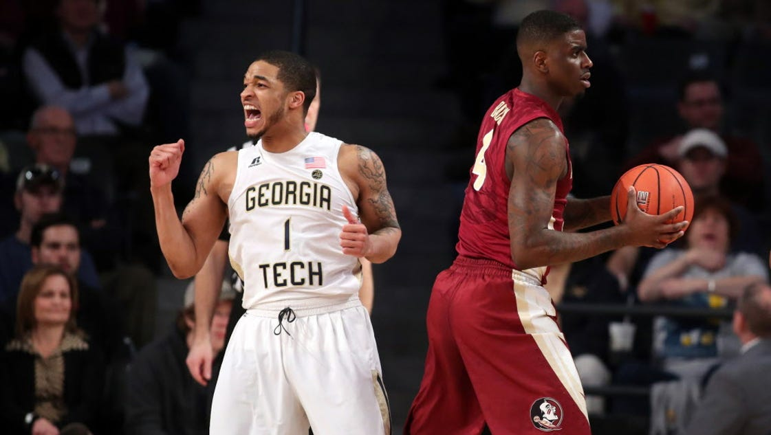 Georgia Tech gets surprising rout against No. 8 Florida State