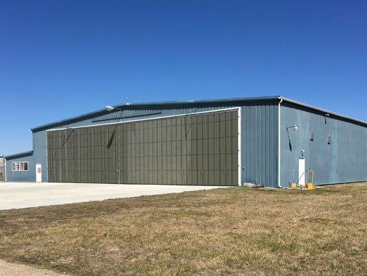 Pentagon Performance Inc. hangar