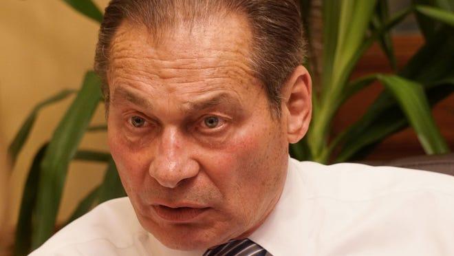 Senate President Dominick Ruggerio.