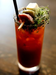 "A ""Bloody Mary"" by The Butcher and Barrel at 700 Race"