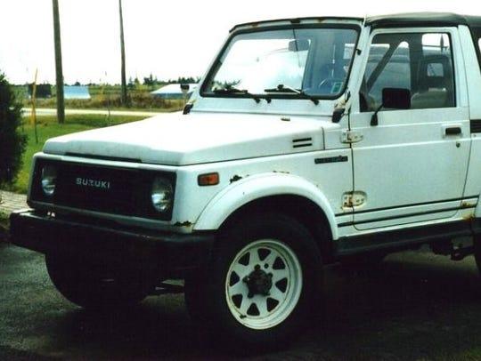 Suzuki Samurai.