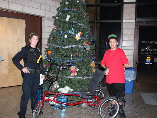 Peoria Police return tricycle to teen