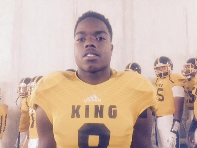 Detroit King's Donnie Corley, the captain of the Detroit Free Press' all-state dream team offense
