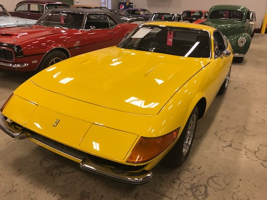 The estimated price is one thing, but info on the front glass showed that this Ferrari sold for more than $800,000 late last year.