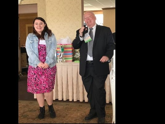 JSAHR-Scholarship-Winner-Nicole-Dykeman-w.-Robert-Kane-Scholarship-Chairman.jpg