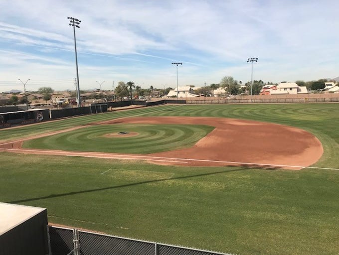 No. 13 Desert Edge Field - In Goodyear, even with a