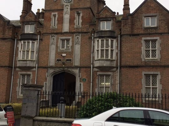 The exterior of the Frank McCourt Museum In Limerick.