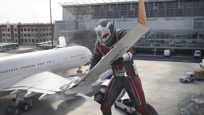 "Giant-Man (Paul Rudd) is big enough to use pretty much anything as a weapon in ""Captain America: Civil War."""