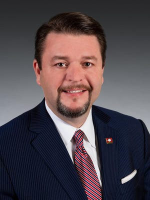 Republican Sen. Jason Rapert of Conway is the sponsor of a bill banning nearly all abortions in Arkansas. The Arkansas Senate on Monday approved the measure, despite objections to the ban not including exceptions for rape or incest.