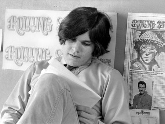 An image of Jann Wenner in the documentary 'Rolling