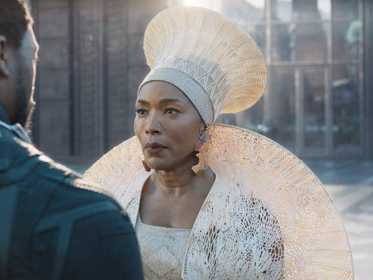 "Angela Bassett as Ramonda in Disney/Marvel's ""Black Panther,"" which is nearing $1.2 billion worldwide after just five weeks."