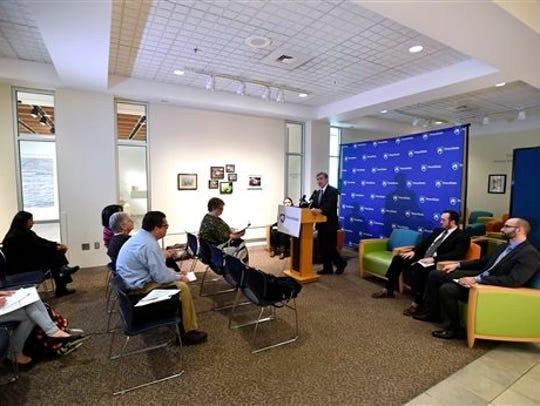 Penn State vice president of student affairs Damon