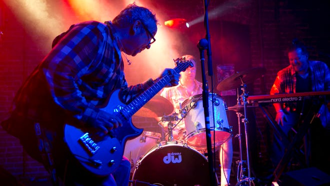 Mike Watt, formerly of The Minutemen, performs at The Main II during South by Southwest festival on Thursday, March 17, 2016, in Austin.