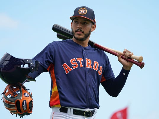 MLB: Spring Training-Minnesota Twins at Houston Astros