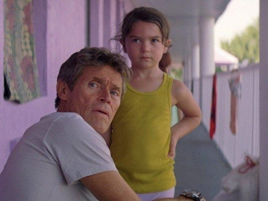 """Willem Dafoe, left, was named the Best Supporting Actor by the Detroit Film Critics Society for his work in """"The Florida Project."""""""