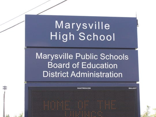 Marysville school officials say there have been no