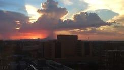 Storms head for metro Phoenix on Saturday, Aug. 29,