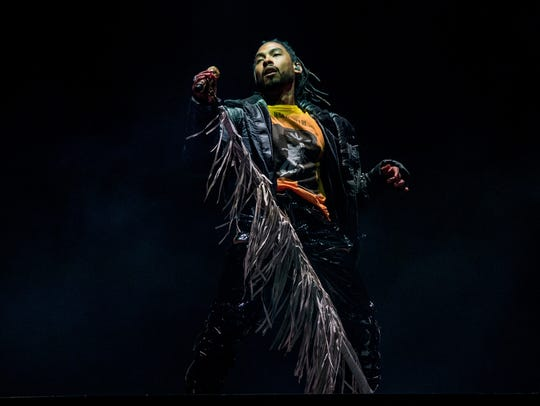 Miguel performs at the Coachella Music & Arts Festival